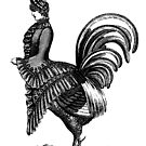 Victorian chicken lady by monsterplanet