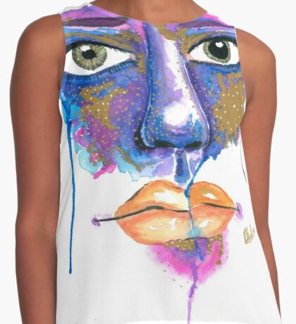 Dilated Watercolour Contrast Tank