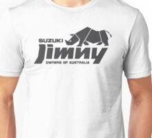 Suzuki Jimny Owners of Australia - Rhino Mono Unisex T-Shirt