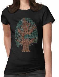 Crazy Tree Womens Fitted T-Shirt