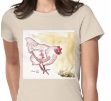 Kiep is broody! Womens Fitted T-Shirt