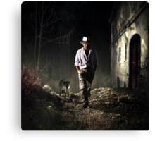 Got Nothin' To Lose.... Canvas Print
