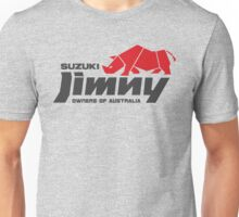 Suzuki Jimny Owners of Australia - Rhino Red Unisex T-Shirt