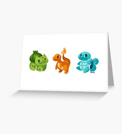 Starters Greeting Card
