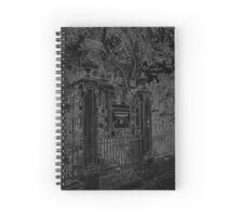 Spooky Garden District Spiral Notebook