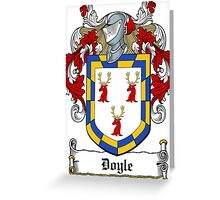 Doyle (Wicklow) Greeting Card