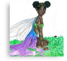 gold faerie Canvas Print