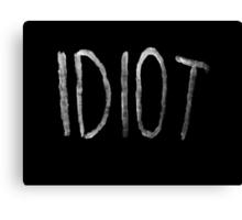 Michael Clifford Idiot Canvas Print