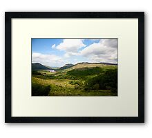 Ladies View-Ring of Kerry Framed Print