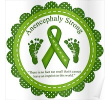 Anencephaly Strong - Vanessa Poster