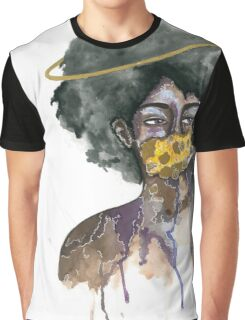 Ring Around the Afro Graphic T-Shirt