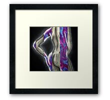 Purple feelings Framed Print
