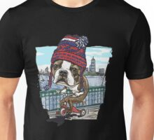 Boston Terrier Wicked Pissah Tricycle Adventure Unisex T-Shirt