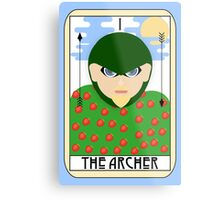 The Archer (Tarot Card I) Metal Print