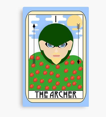 The Archer (Tarot Card I) Canvas Print