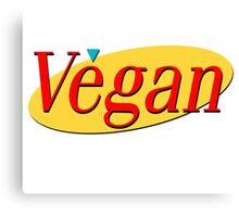 Seinfeld Vegan  Canvas Print