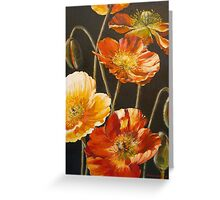Poppies Too (for Lea Durham) Greeting Card