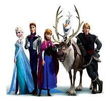 Frozen Characters by pukka-