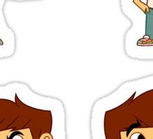 Spencer Sticks Sticker