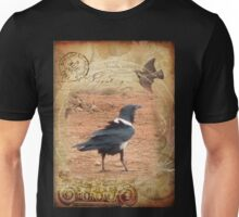 Domino, the Pied Crow Unisex T-Shirt