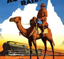 Trans Australian Railway by Vintagee