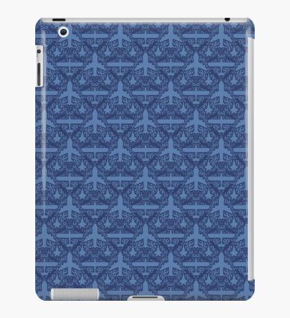 Aircraft Damask iPad Case/Skin