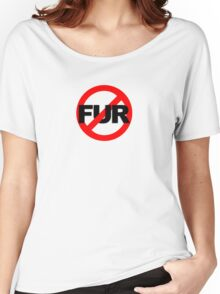 No Fur Women's Relaxed Fit T-Shirt