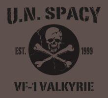 U.N. Spacy VF-1 Valkyrie by BankaiChu