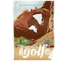 Galactic Golf Poster