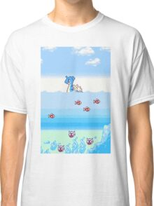 Pokemon Gold And Silver Scenic Ocean Classic T-Shirt