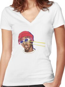 Lil Yachty / Lil Boat / Shirt , sticker , phone case / Women's Fitted V-Neck T-Shirt