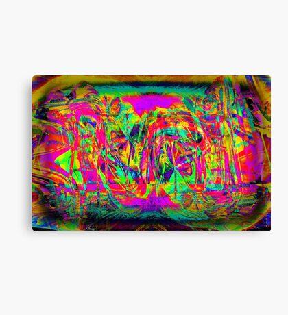 T H I N K .... L O V E Canvas Print