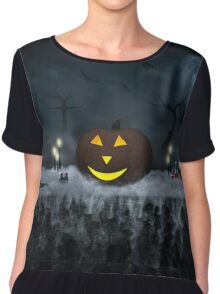 Halloween is coming! Chiffon Top
