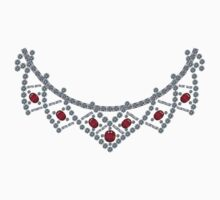 1950s Diamond Ruby Necklace T-Shirt