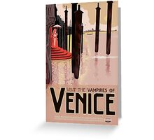 The Vampires of Venice Greeting Card