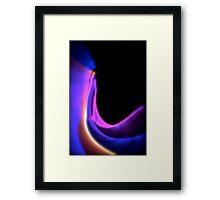 Twisted Light Framed Print