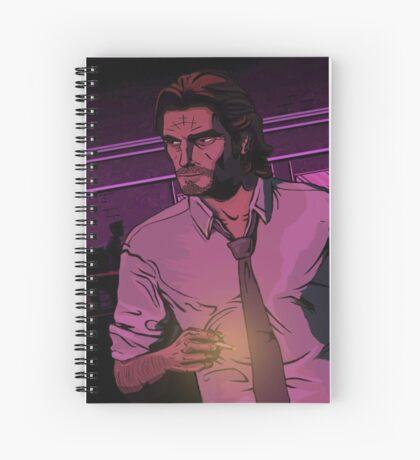 Big Bad Wolf Spiral Notebook