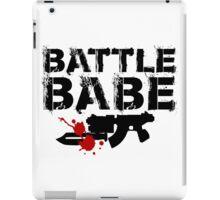 Battle Babe iPad Case/Skin