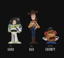The Good, the Bad and the Grumpy by rain1940