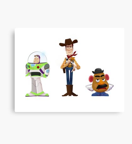 The Good, the Bad and the Grumpy Canvas Print