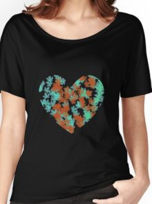 Maple Heart Women's Relaxed Fit T-Shirt