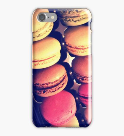 Paris Macaroons, Gadget Edition iPhone Case/Skin