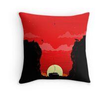 The Desert Throw Pillow