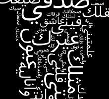 Arabic Script  by Abdullah Albabtain