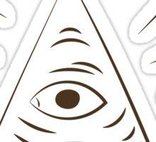 A Scanner Darkly Illuminati Symbol Sticker