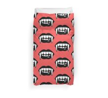 keep your mouth Duvet Cover