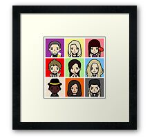 Lost Girl Framed Print