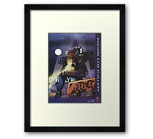 Future Cop LAPD by Juvaun Kirby Framed Print