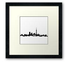 downtown Toronto skyline Framed Print