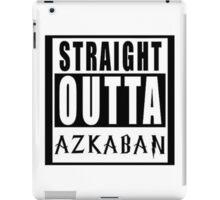 Straight Outta Azkaban iPad Case/Skin